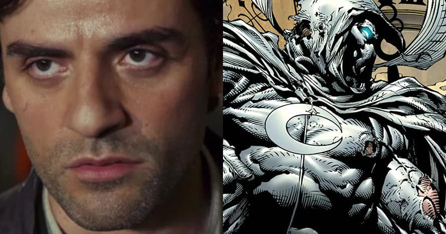 See Oscar Isaac Step Into Stunning 'Moon Knight' Armor For Disney Plus Series