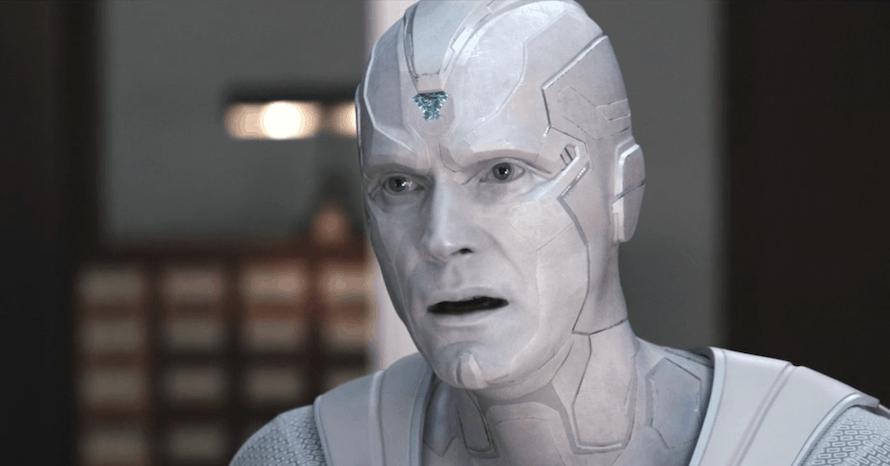 Avengers Infinity War Paul Bettany White Vision WandaVision MCU