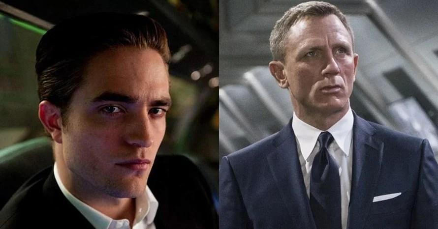 Robert Pattinson The Batman James Bond Daniel Craig