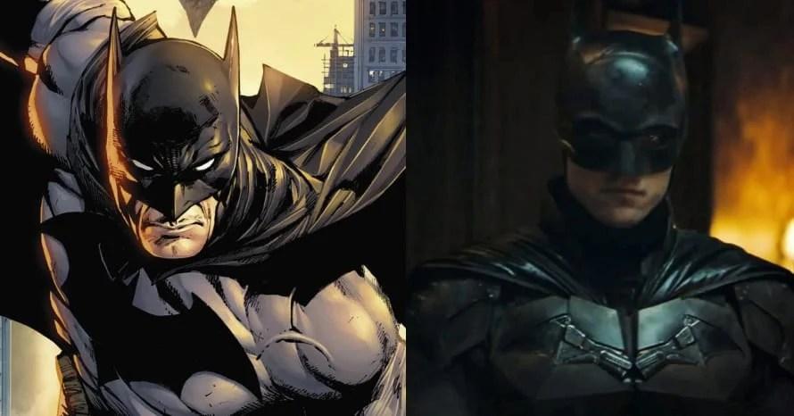 Robert Pattinson Sports White-Eyed Cowl In 'The Batman' Pic