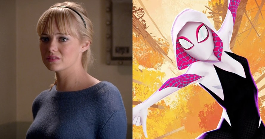 See Emma Stone Suit Up As Spider-Gwen For Tom Holland's 'Spider-Man 3'