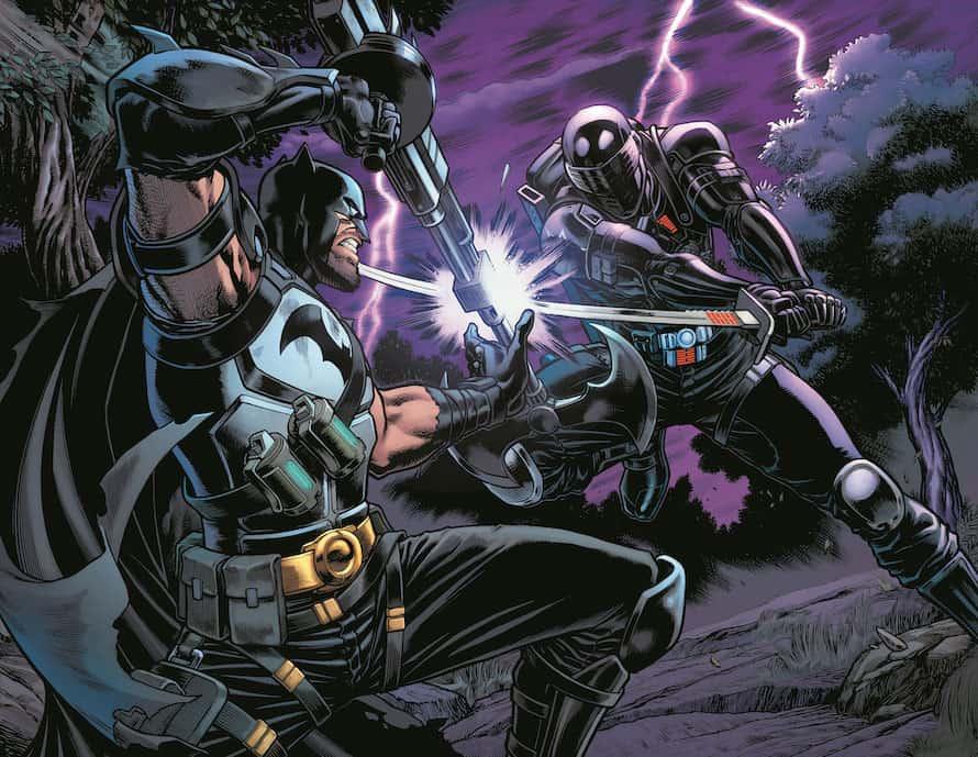 Batman G.I. Joe Snake-Eyes DC Comics