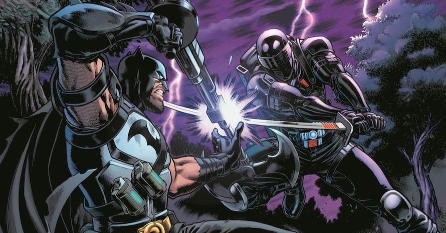 Batman Battles 'G.I. Joe' Hero Snake-Eyes In New 'Fortnite' Comic Series