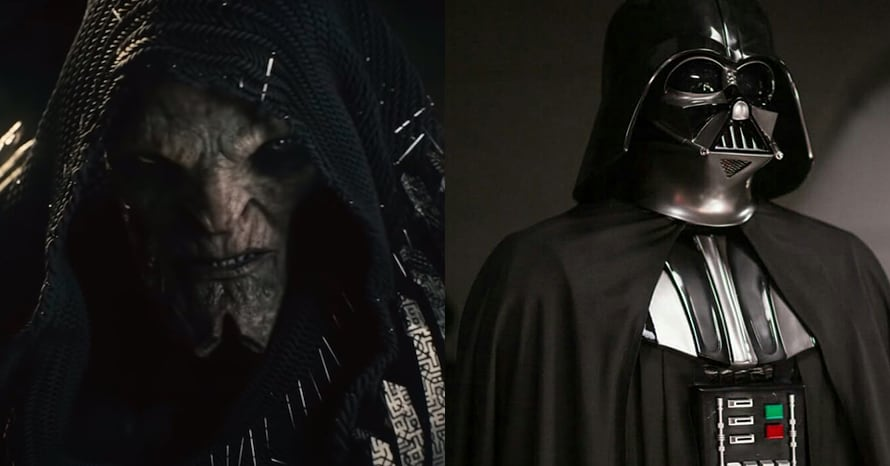 DeSaad Gets A Darth Vader-Inspired Look In 'Justice League' Concept Art