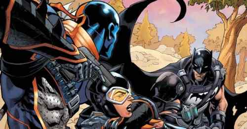 Deathstroke Crosses Batman In 'Fortnite' Comic Series
