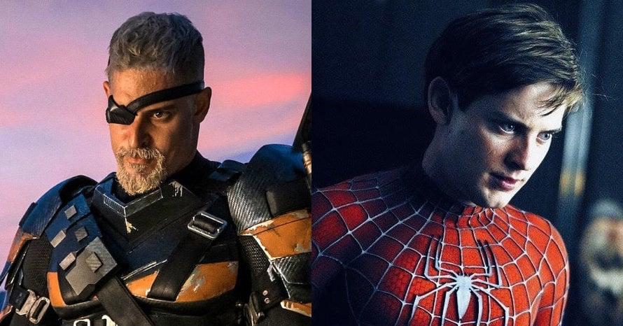 Deathstroke Spider-Man Marvel Joe Manganiello