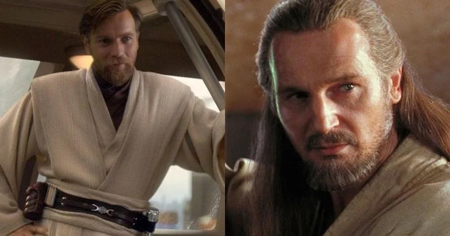 Ewan McGregor Liam Neeson Obi-Wan Kenobi