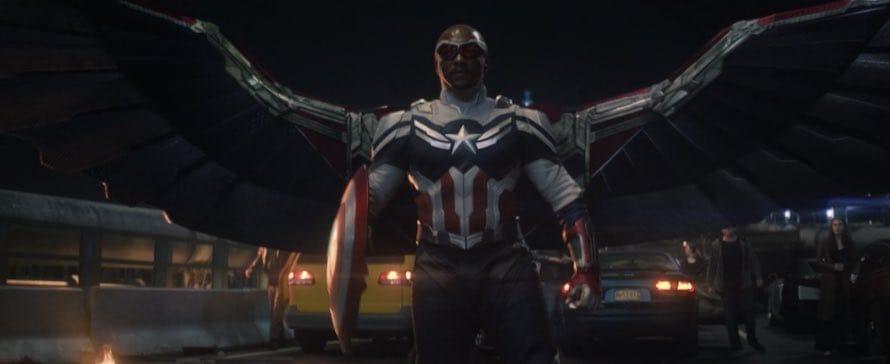 Sam Wilson Captain America Falcon Winter Soldier