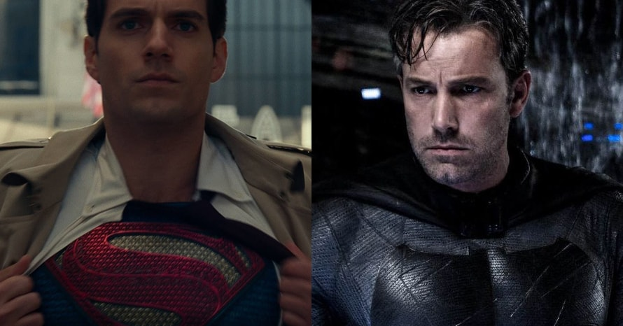 See Superman Actor Henry Cavill Don Ben Affleck's Batman Suit In Pic
