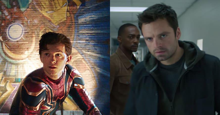 Tom Holland Spider-Man 3 Falcon Winter Soldier