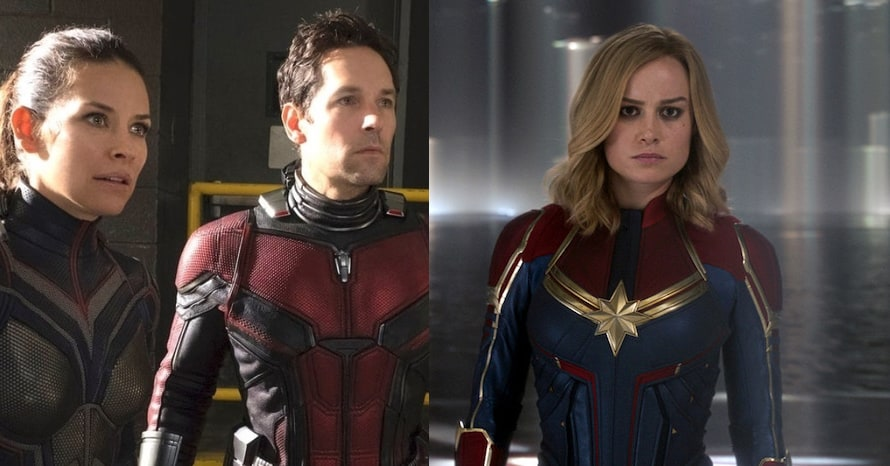 Ant-Man and The Wasp Quantumania The Marvels