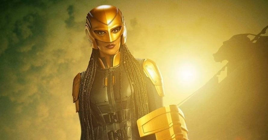 The CW Reveals First Look At Azie Tesfai's Guardian In 'Supergirl'