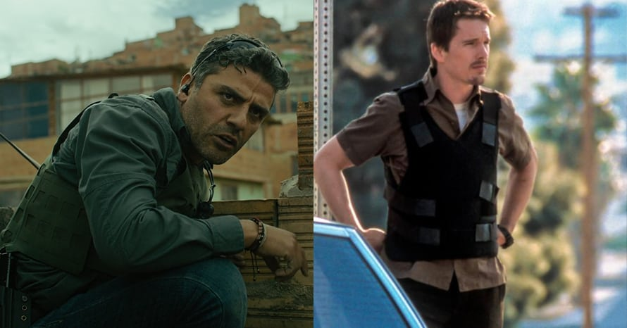 'Moon Knight' Stars Oscar Isaac & Ethan Hawke Spotted Training Together