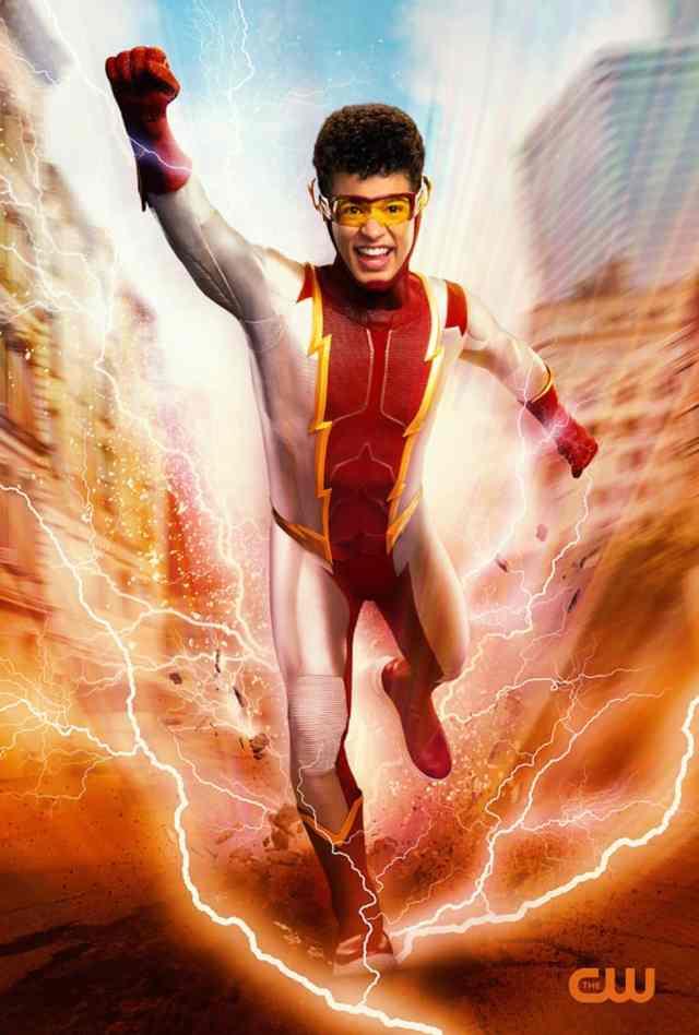 The Flash Impulse Grant Gustin Jordan Fisher