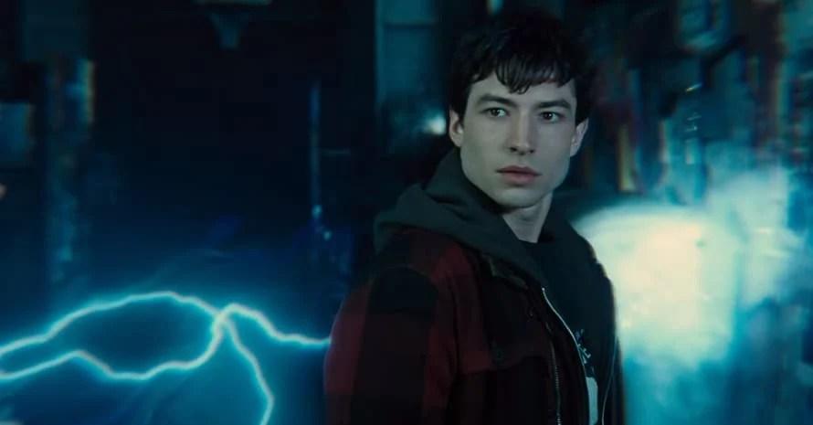 Ezra Miller The Flash Barry Allen