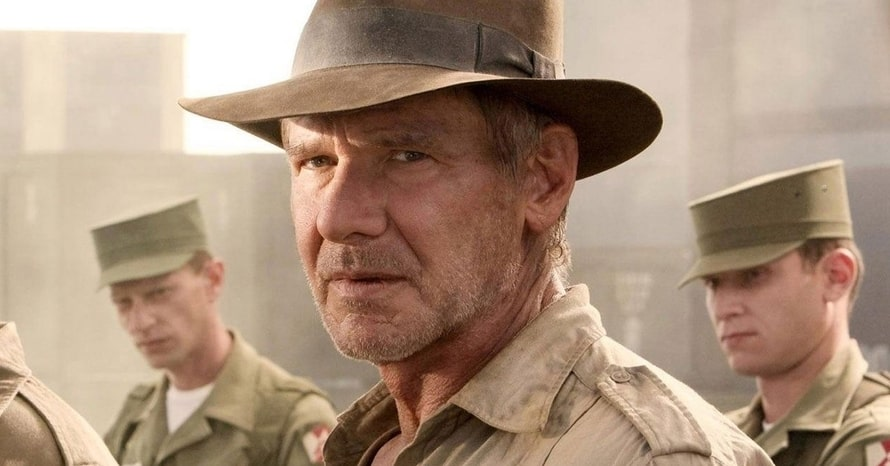 Harrison Ford Teams Up With Toby Jones In Latest 'Indiana Jones 5' Set Photos