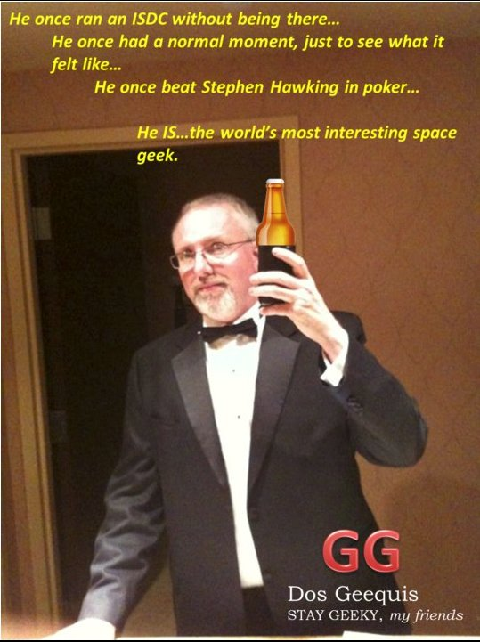 The Most Interesting Space Geek in the World