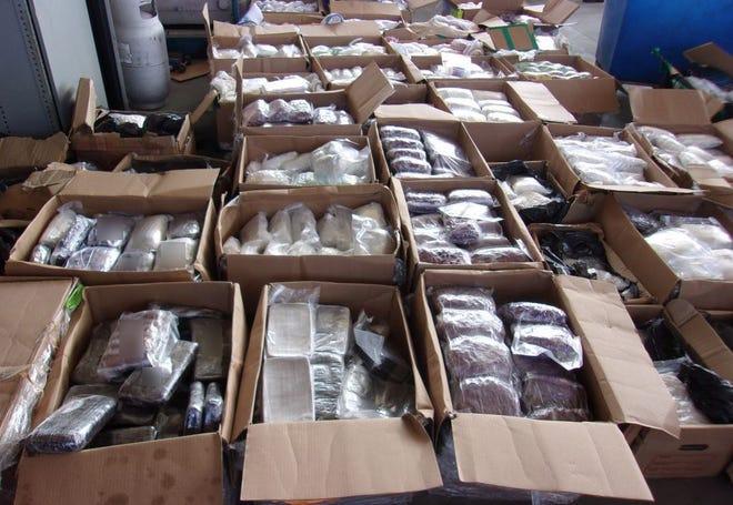 $7.2 million in meth, heroin, fentanyl found at Otay Mesa border crossing in San Diego