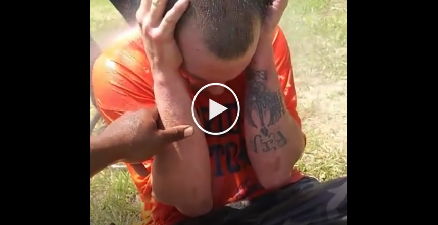 Drug induced freak out! What kind of drugs do you think he took to act this way?
