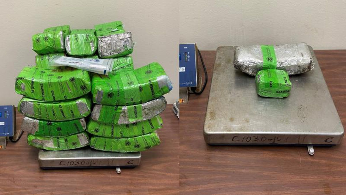 Border patrol agents seize nearly $3M in suspected meth, heroin in Hidalgo, Texas