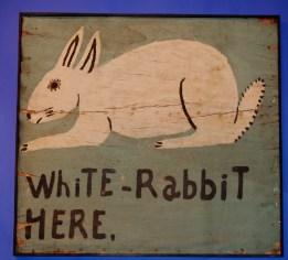 Ein weißes Kaninchen?