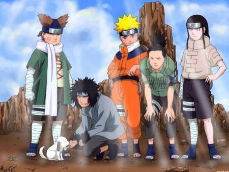 Naruto equipe genin
