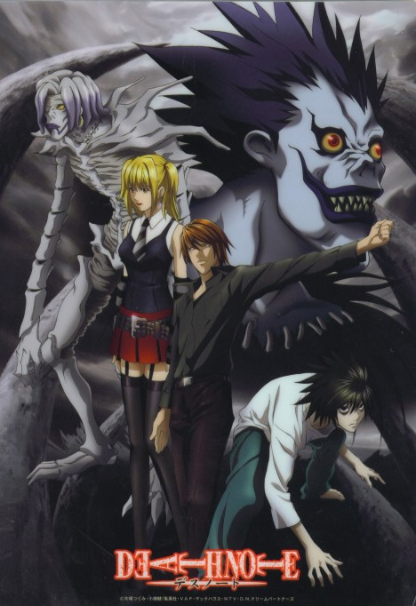 Death Note all character