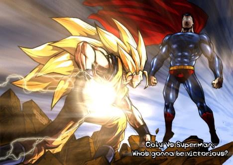Goku versus Superman quem ganha?
