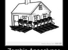Casa protegida Anti-zumbi