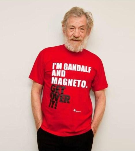 Sir Ian Mckellen Gandalf e magneto