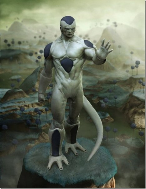 Freeza real Dragon ball z