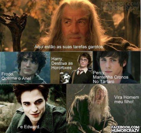 Gandalf o sabio contra Edward Cullen
