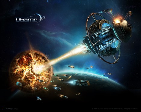 Ogame wallpaper naves battleship