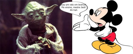 Star Wars disney mickey yoda