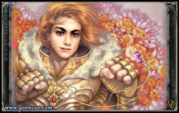 Aioria de Leão versão Cavaleiro de ouro Santo