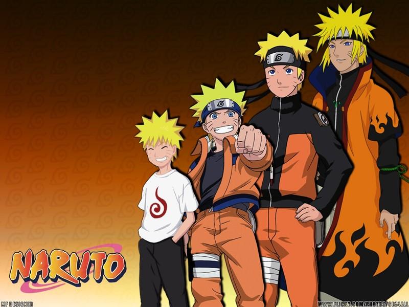 Linha do tempo com Naruto Hokage