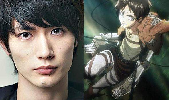 Shingeki no Kyojin Haruma Miura e Eren