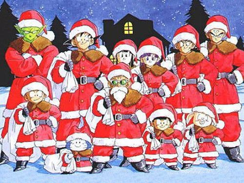 Dragon Ball Z natal papai noel