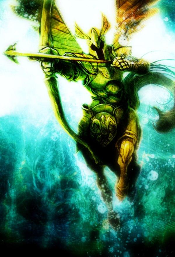 Armadura de Sagitario cavaleiros do zodíaco