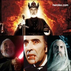 Morreu Christopher Lee personagens