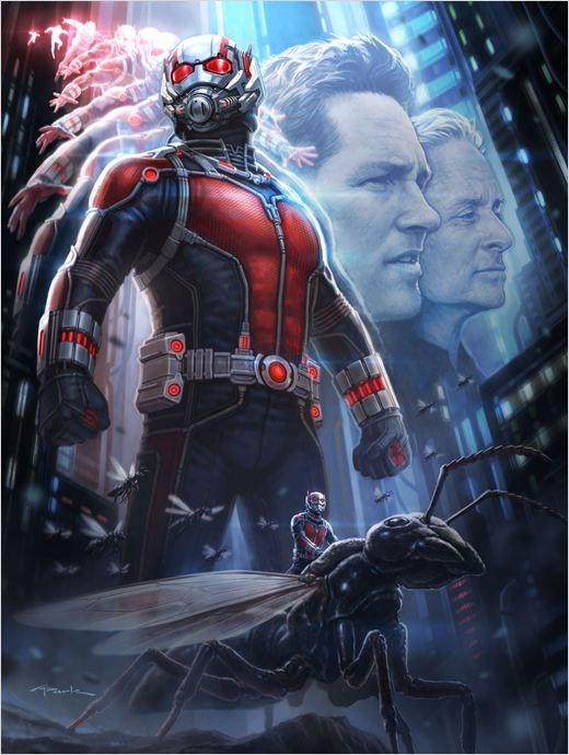 Homem Formiga Scott Lang e Hank Pym