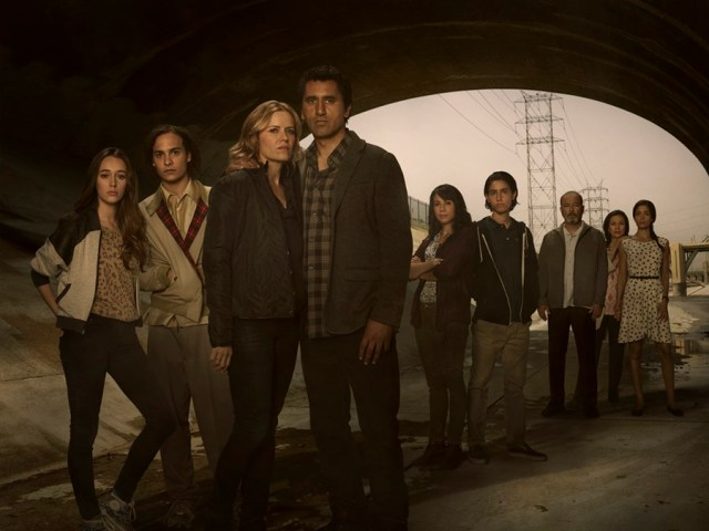 Fear The walking dead poster personagens
