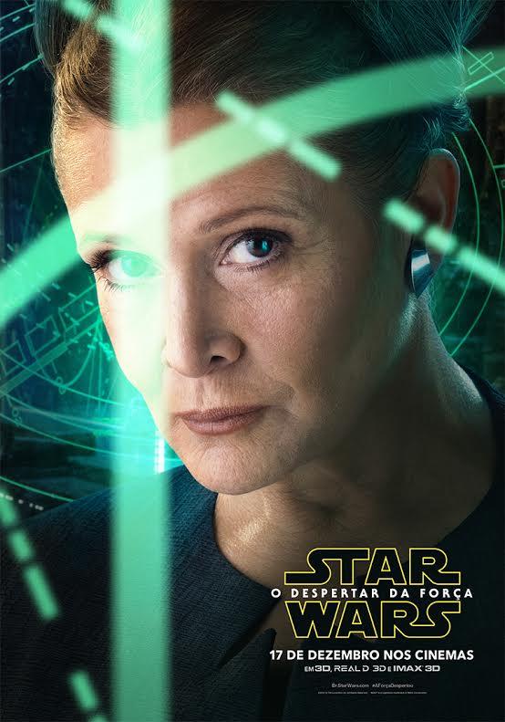 Star Wars O Despertar da Força Leia