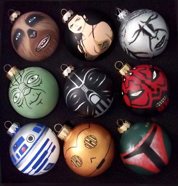 Bolas personagens de Natal Star Wars