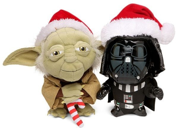 Darth Vader e Yoda Noel Natal Star Wars