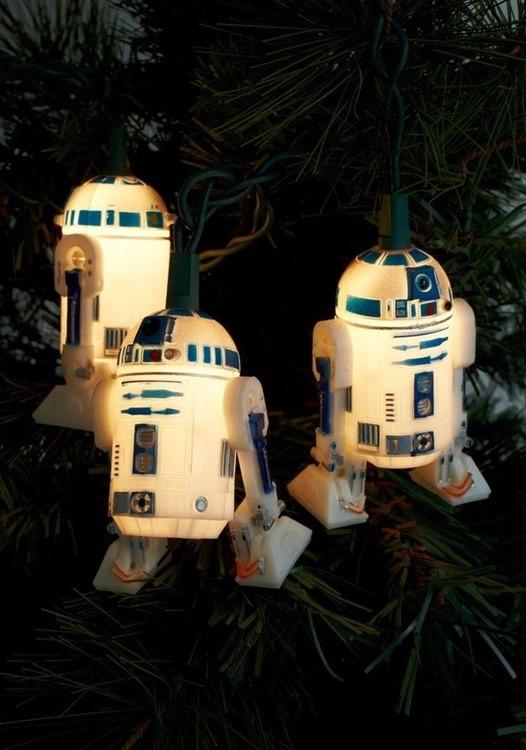 Luzes de R2 Natal Star Wars