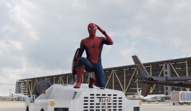 Homem Aranha Capitão América Guerra Civil