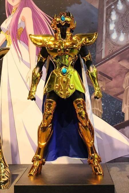 Leão armaduras de ouro em tamanho real cavaleiros do zodíaco hd