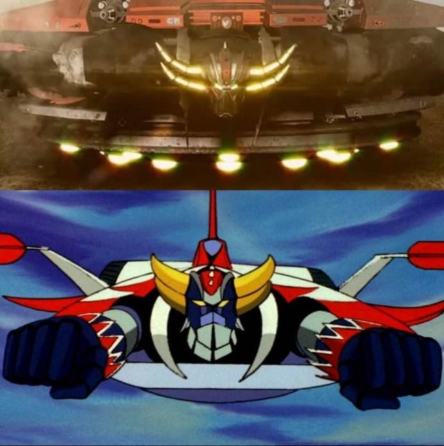 UFO Robot Goldrake cgi fanmade anime