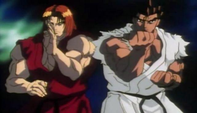 street fighter ii victory ryu e ken